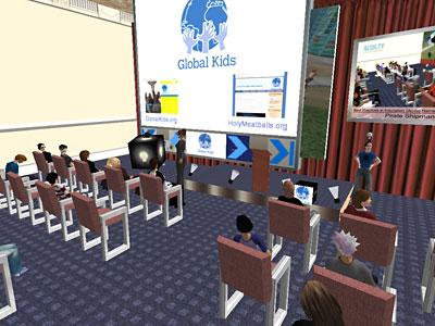 Gloabal Kids auf der Konferenz
